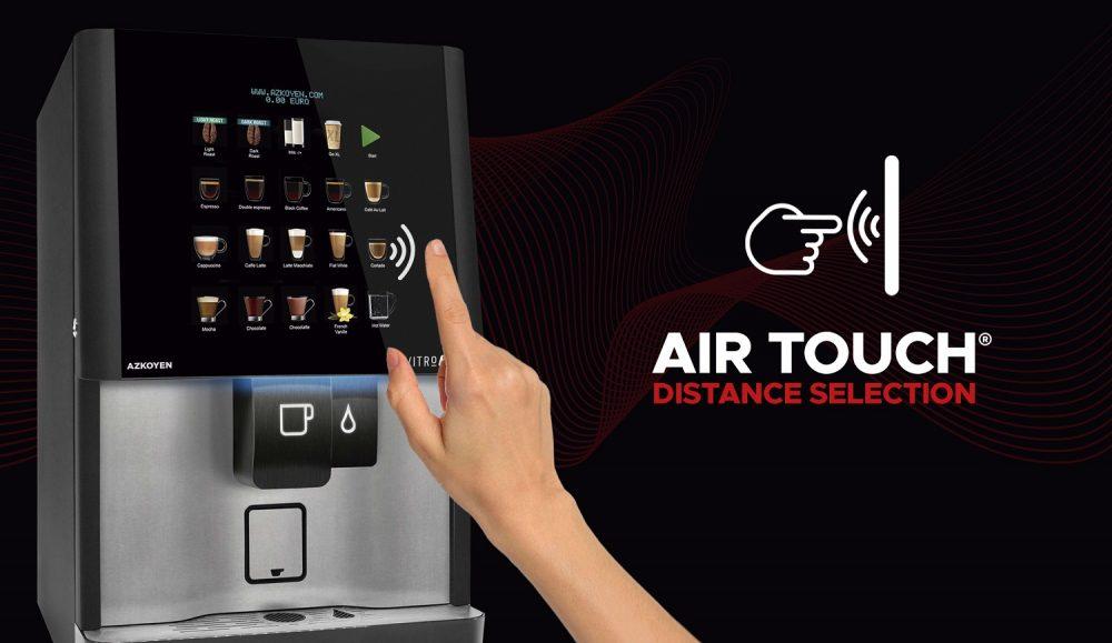 Air Touch la tecnología española para pedir sin tocar en maquinas automáticas 1