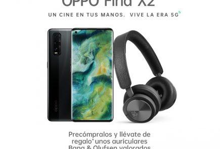Compra el OPPO Find X2 con regalo