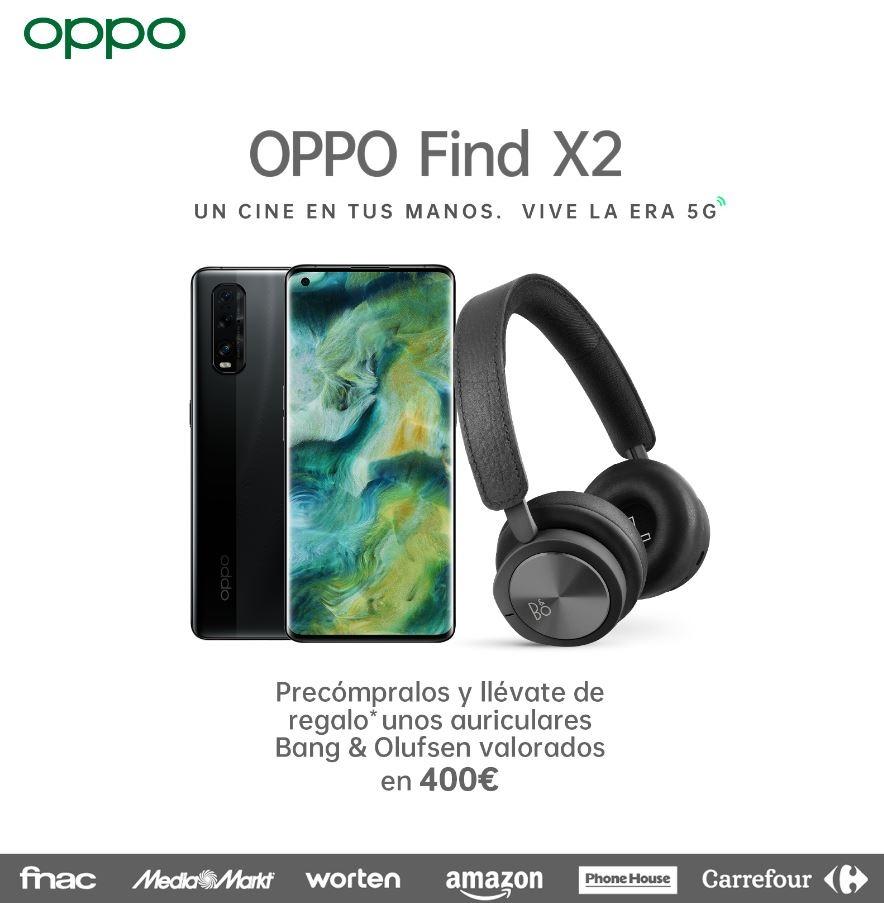 Comprar el OPPO Find X2 con regalo