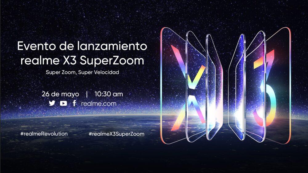 Lanzamiento Realme X3 SuperZoom