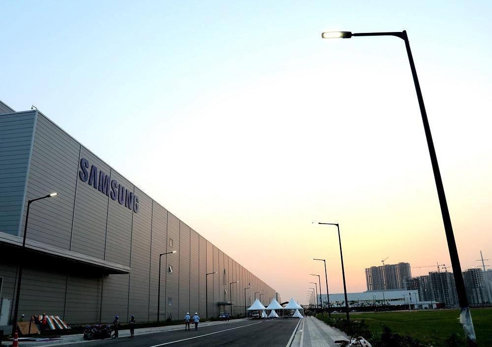 Noida, fabricación en India de Samsung