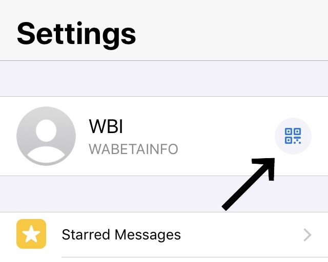 WhatsApp permitirá añadir contactos con un código QR