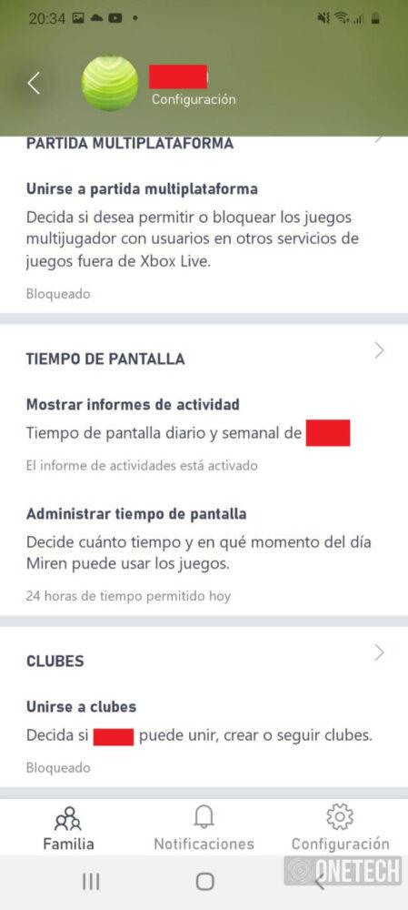 Xbox Family Settings, la app de Microsoft para saber cómo y con quien juegan tus hijos 11