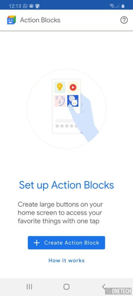 Action Blocks, la nueva aplicación de accesibilidad de Google 1