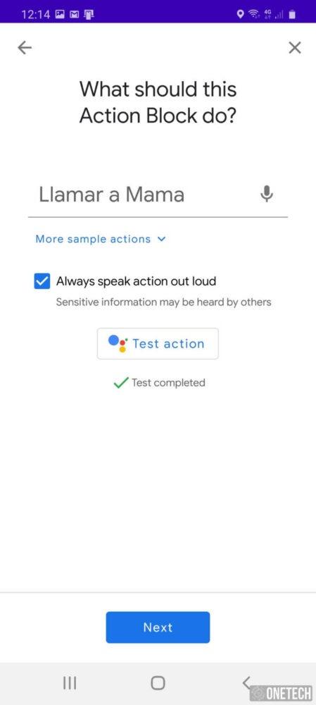 Action Blocks, la nueva aplicación de accesibilidad de Google 3