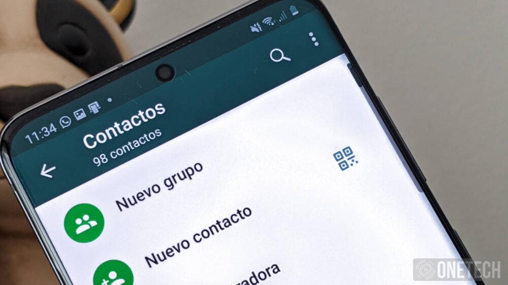 Como añadir contactos en WhatsApp con un código QR 1