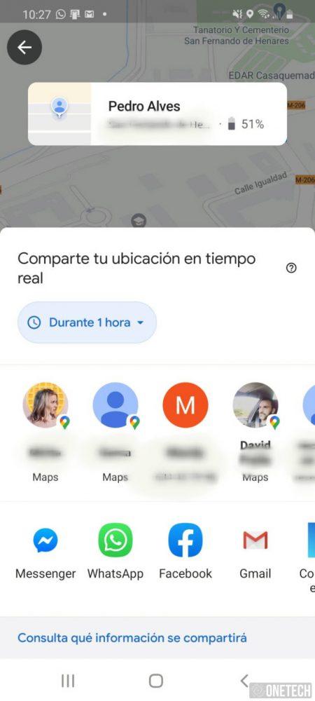 Google Maps mejora la interfaz para compartir ubicación 2