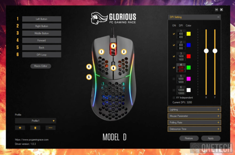 Glorious Model D, un ratón gamer