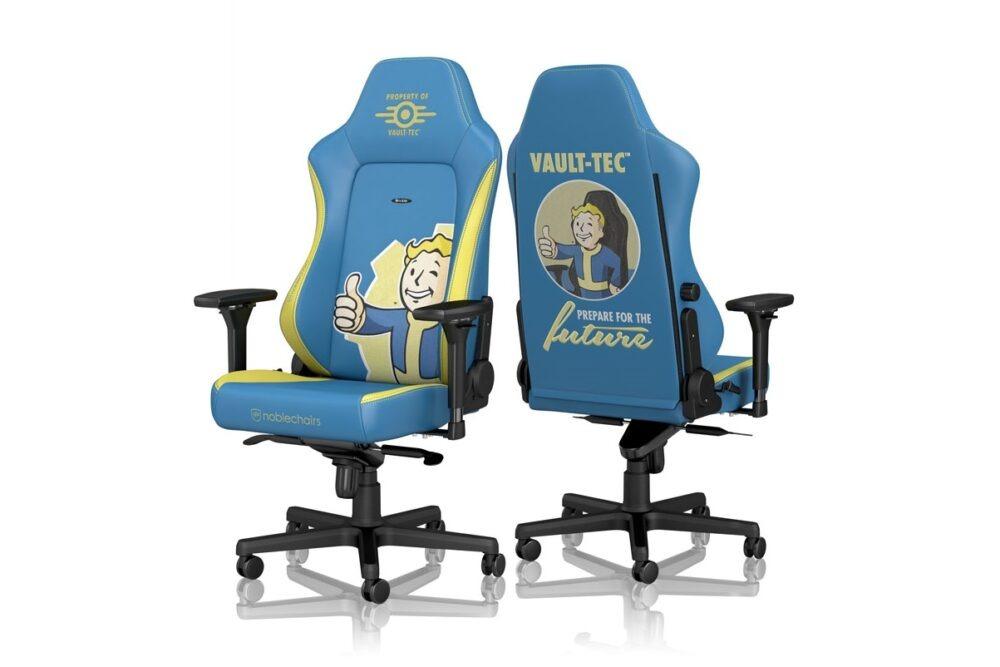 Noblechairs y Bethesda lanzan una silla gamer de Fallout