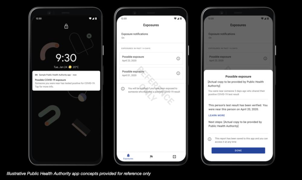 España usará el sistema de notificaciones de exposición al COVID‑19 de Google y Apple