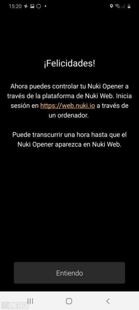 Nuki Opener, el hogar conectado comienza en el portal - Análisis 18