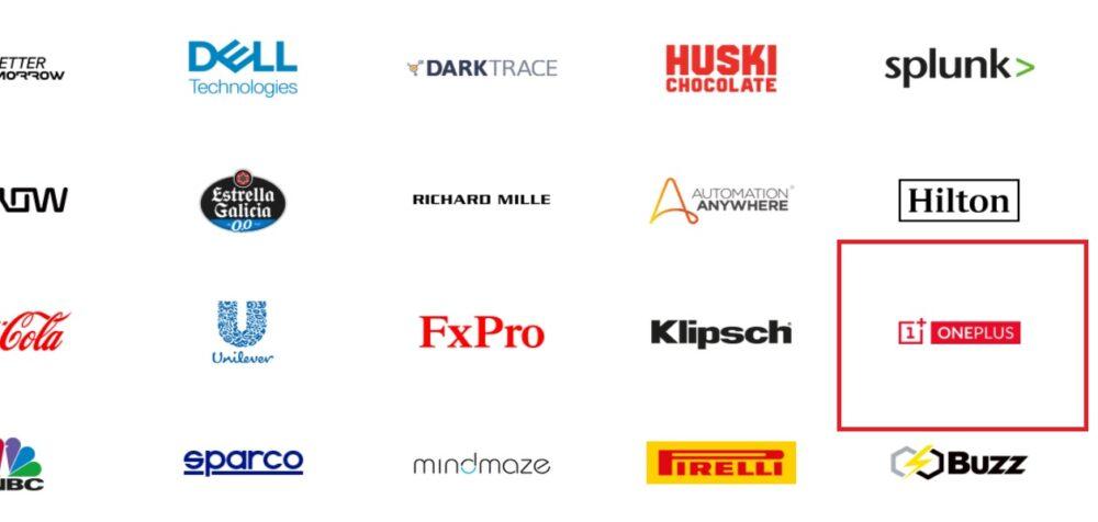 Antigua lista de partners de Mclaren