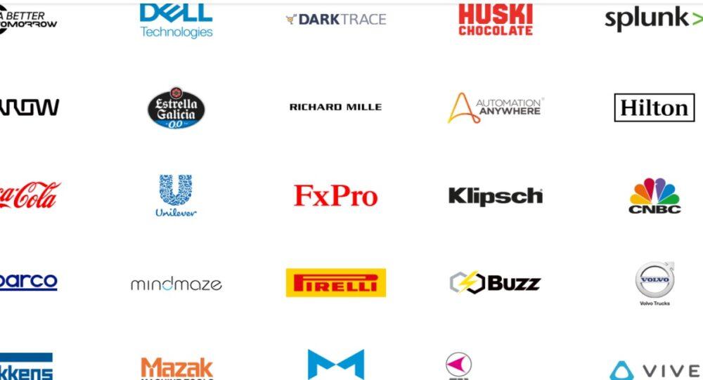 Lista de partners de Mclaren actual