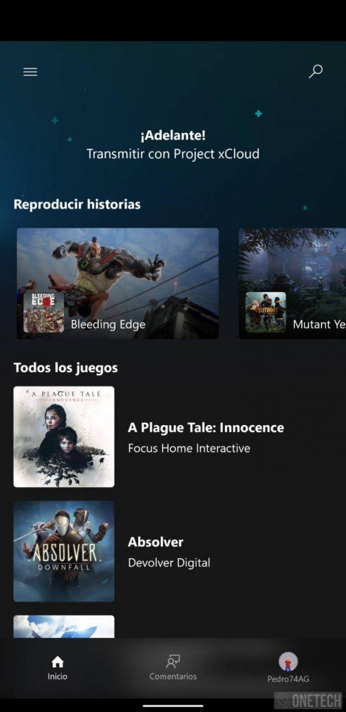 Project xCloud ya está disponible en España. Te mostramos como jugar a títulos Xbox en tu móvil Android 1