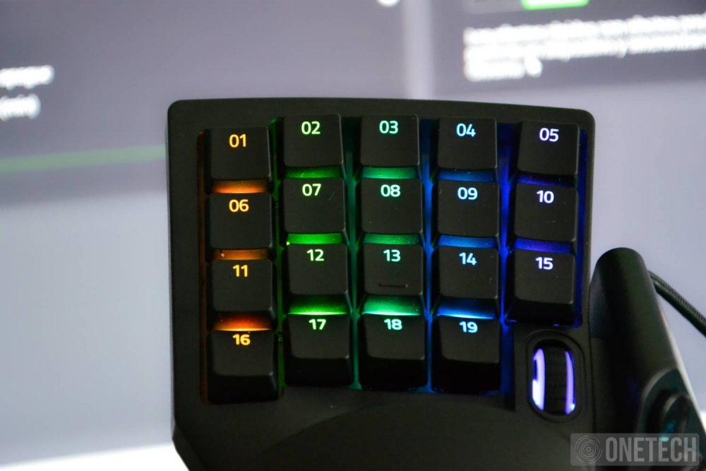 Razer Tartarus Pro, llevando los Keypad a otro nivel 8