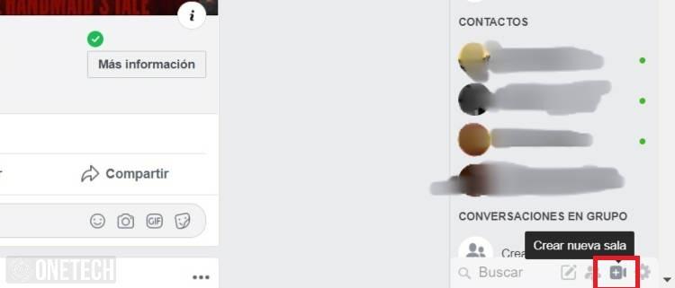salas de facebook