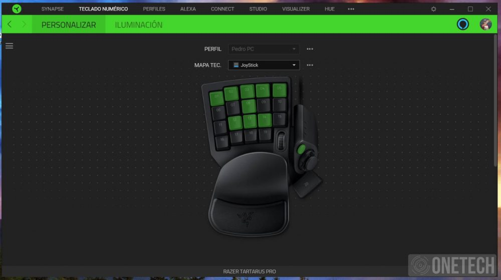 Razer Tartarus Pro, llevando los Keypad a otro nivel 13