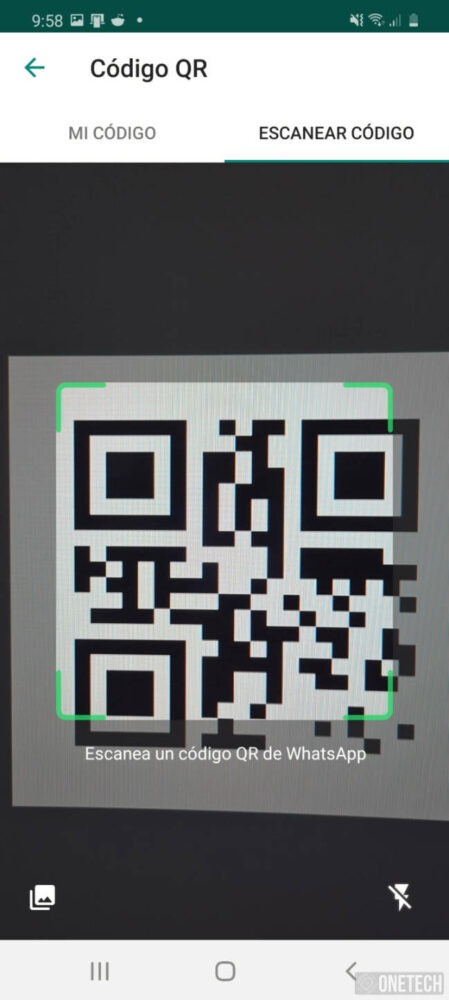 Añadir un contacto con código QR en WhastApp