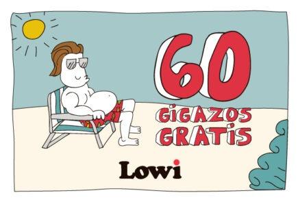 Lowi, regresa la promoción de 60GB gratis para el verano 3