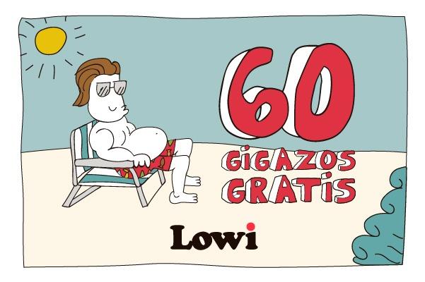 Lowi, regresa la promoción de 60GB gratis para el verano