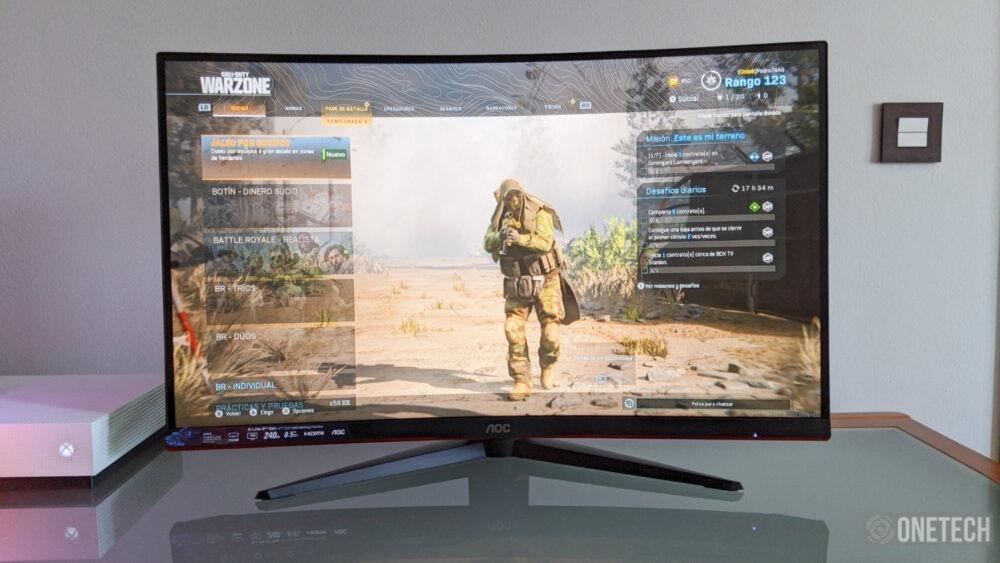 AOC C27G2ZU, probamos este monitor curvo con 240 Hz y respuesta de 0.5 ms 7