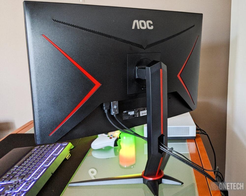 AOC C27G2ZU, probamos este monitor curvo con 240 Hz y respuesta de 0.5 ms 2