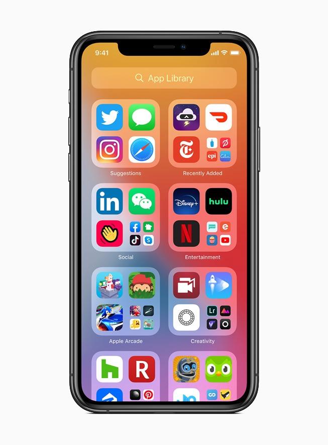 iOS 14 viene para cambiar el aspecto de la pantalla del iPhone 2
