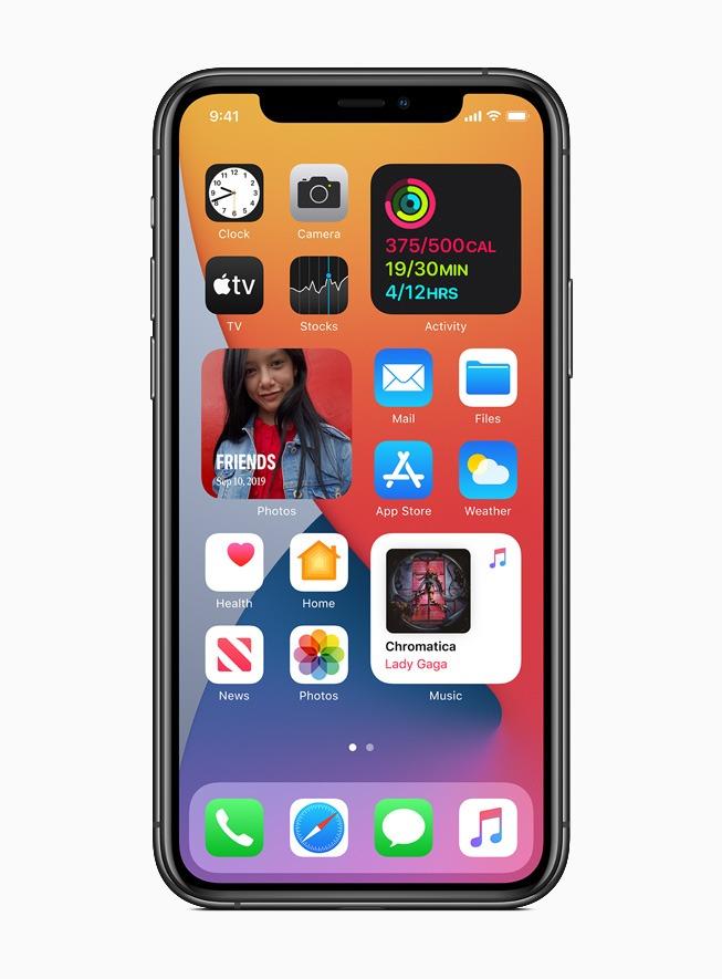 iOS 14 viene para cambiar el aspecto de la pantalla del iPhone 1