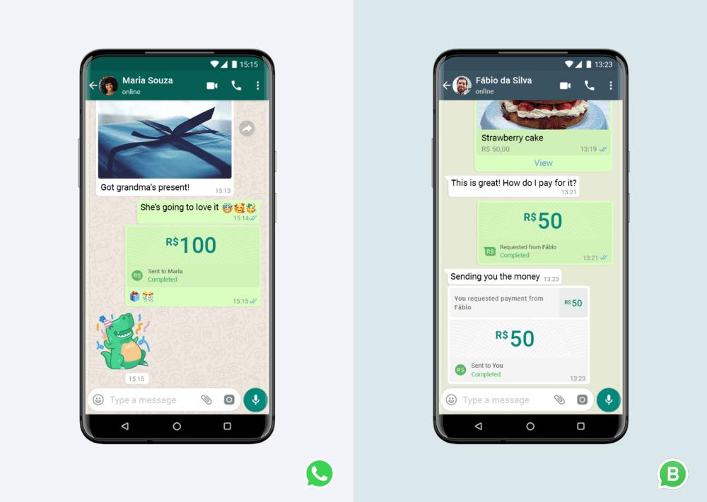 El sistema de pagos de WhatsApp ya está disponible en Brasil