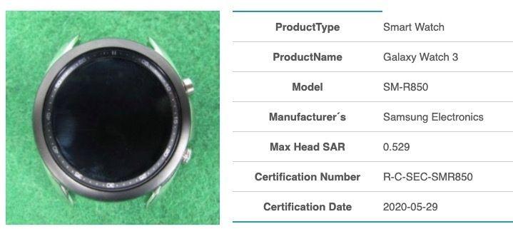 Galaxy Watch 3 SM-R850
