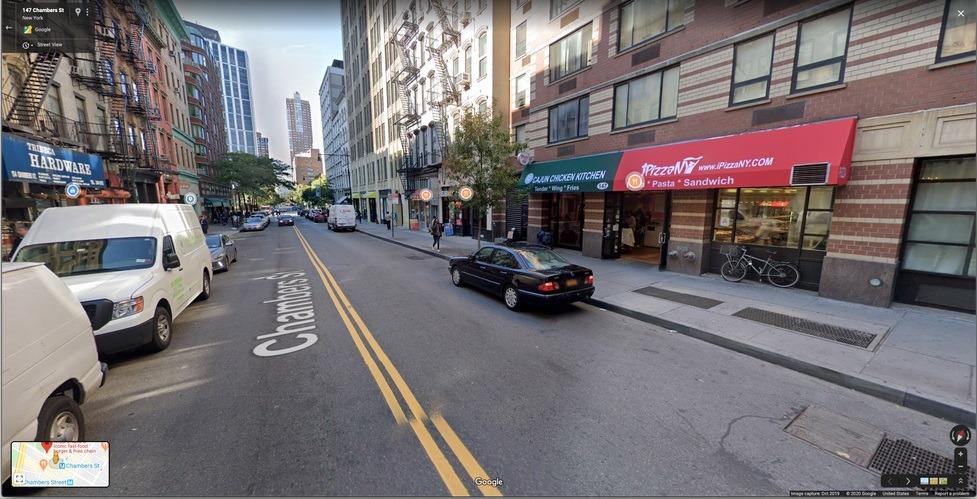 Google Street View marcador