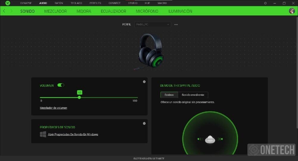 Razer Kraken Ultimate con THX Spatial Audio y micrófono con cancelación de ruido, lo analizamos a fondo 17