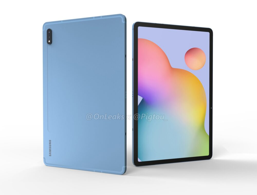 Samsung Galaxy Tab S7: se filtra su diseño y algunos datos 2