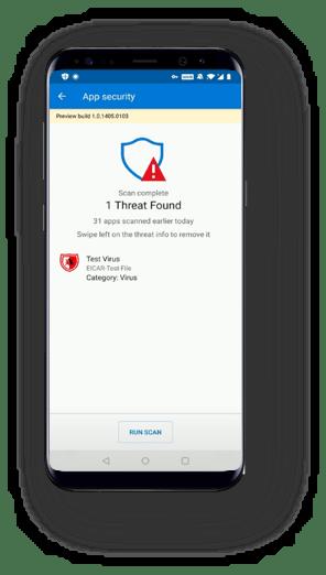 El antivirus Microsoft Defender ATP llega a Android en forma de preview 11