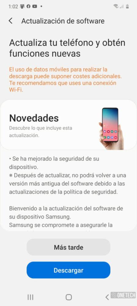 Los Samsung Galaxy S20 comienzan a recibir el parche de Junio [Disponible en España] 1