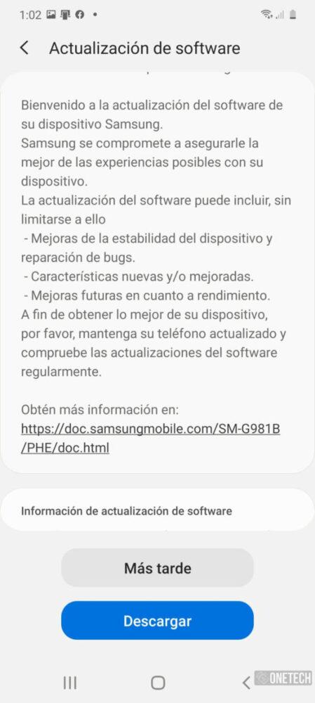 Los Samsung Galaxy S20 comienzan a recibir el parche de Junio [Disponible en España] 2