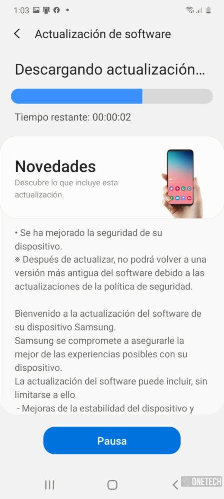 Los Samsung Galaxy S20 comienzan a recibir el parche de Junio [Disponible en España] 3