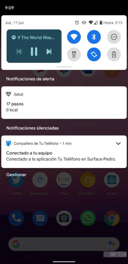Android 11 Beta 2 rediseña sus nuevas tarjetas de reproducción 1