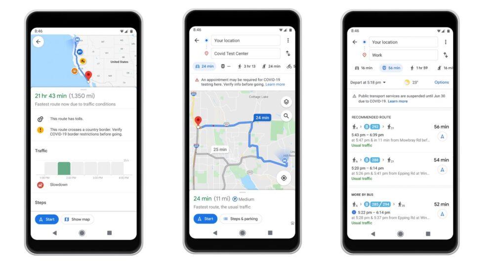 Google Maps te ayudará a viajar más seguro en la