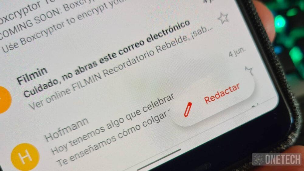 Gmail añade un nuevo icono de redacción