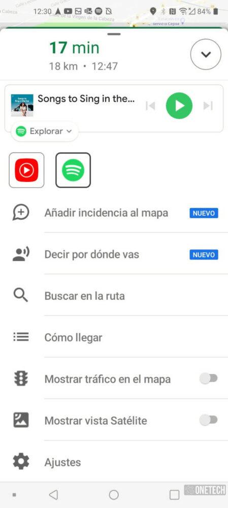 Google Maps ya integra Youtube Music en su navegación 4