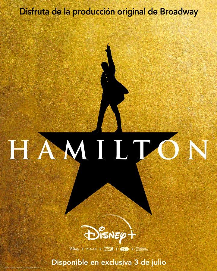 Hamilton llega a Disney Plus