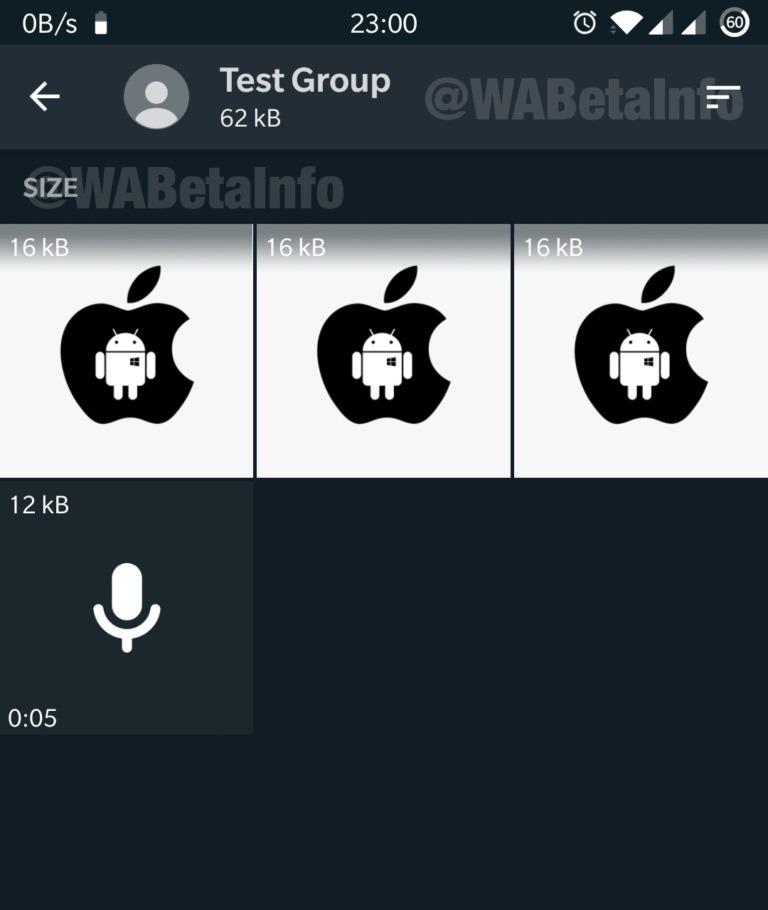 WhatsApp prepara un gran número de novedades y algunas ya se han mostrado 4