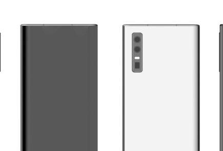 Huawei smartphone con cámara bajo pantalla