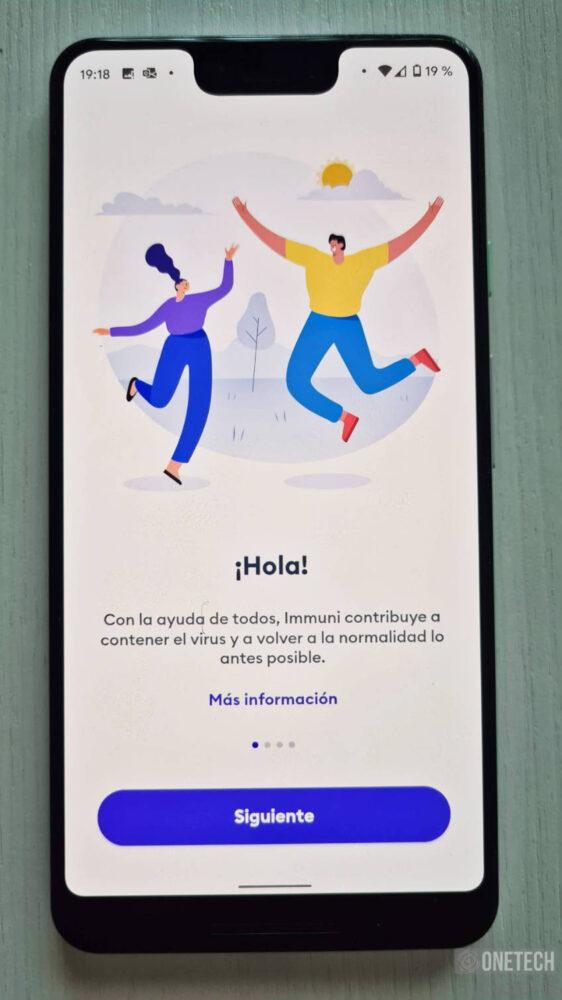 Immuni, la primera aplicación en usar el sistema de Notificaciones Covid19 de Google y Apple 1