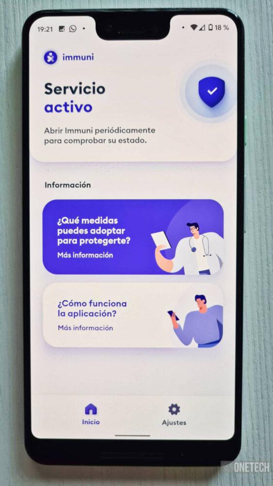 Immuni, la primera aplicación en usar el sistema de Notificaciones Covid19 de Google y Apple 12