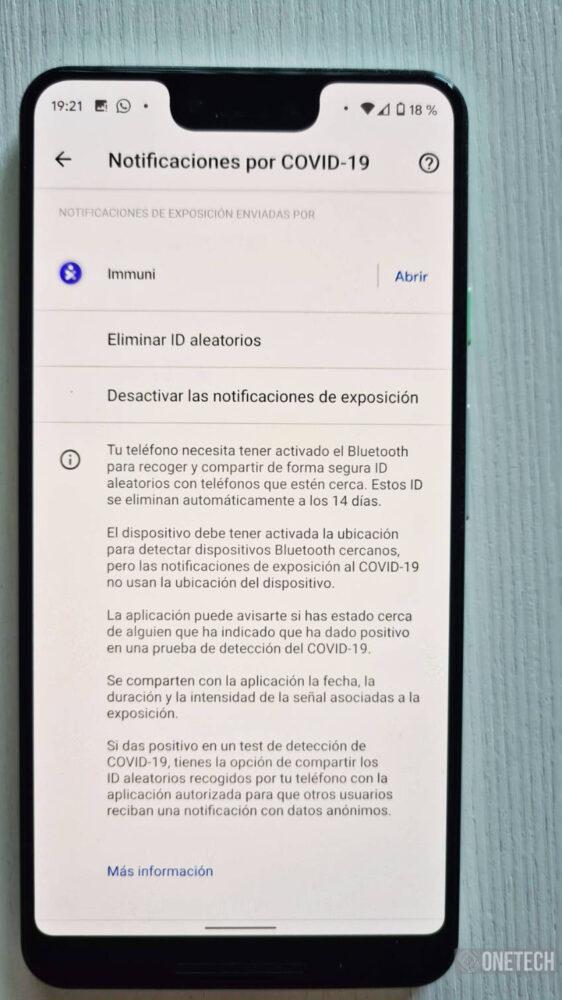 Immuni, la primera aplicación en usar el sistema de Notificaciones Covid19 de Google y Apple 14