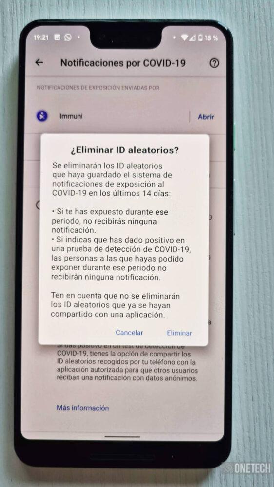 Immuni, la primera aplicación en usar el sistema de Notificaciones Covid19 de Google y Apple 13