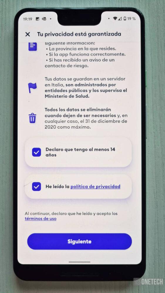 Immuni, la primera aplicación en usar el sistema de Notificaciones Covid19 de Google y Apple 5