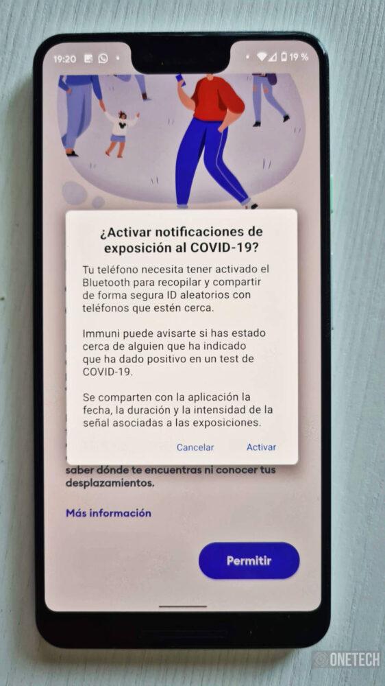 Immuni, la primera aplicación en usar el sistema de Notificaciones Covid19 de Google y Apple 10